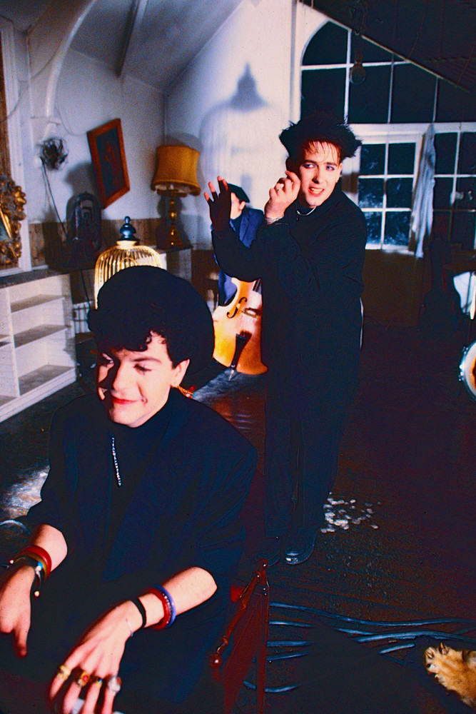 Lol Tolhurst & Robert Smith