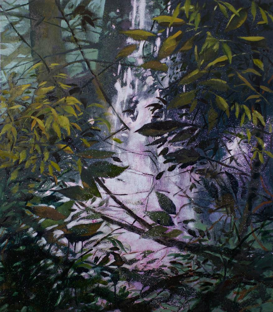 Violet Falls Art   Jono Wright Art