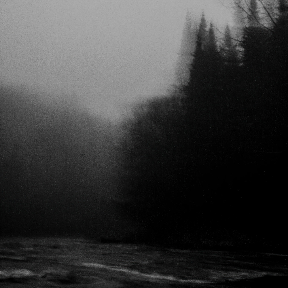 dark, wet and painful day In Northern Quebec, at night