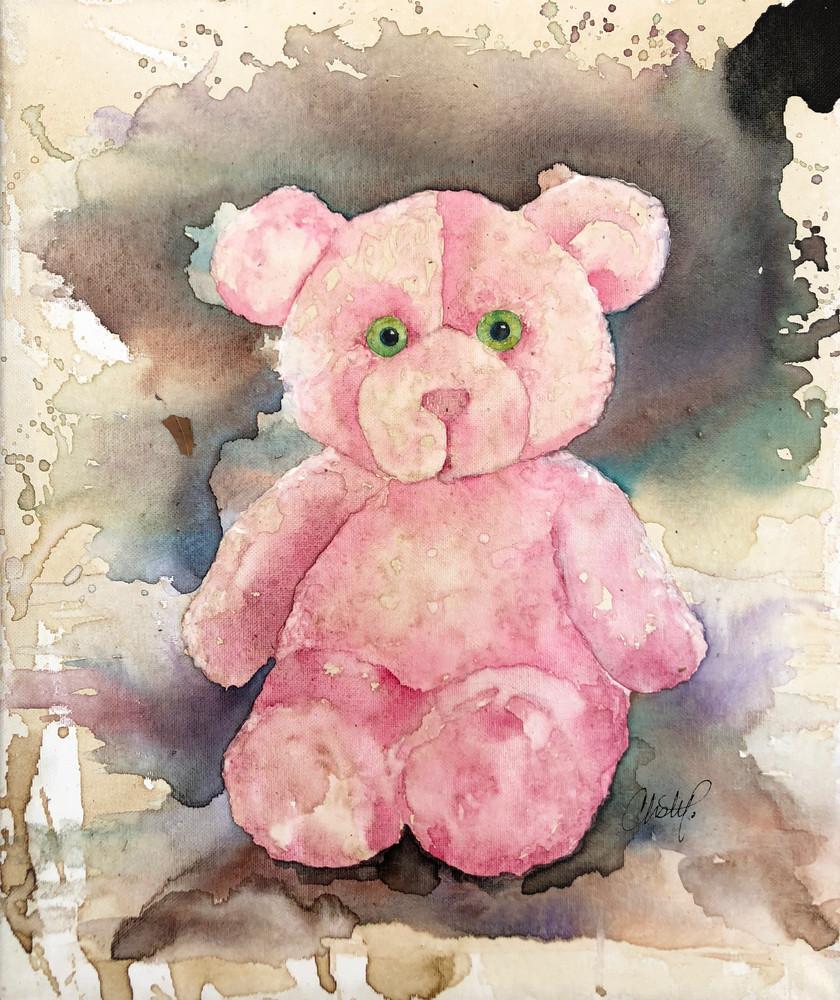 Fuzzy Wuzzy Bear Art | Christy! Studios