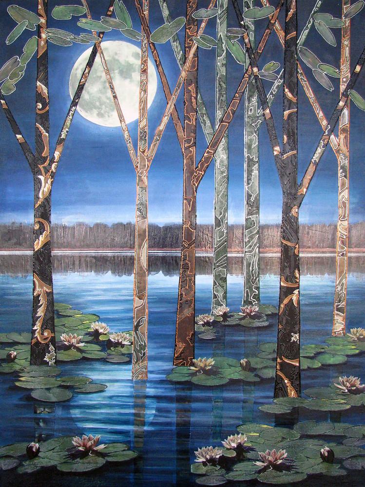 Lotus Moon Art | Channe Felton Fine Art