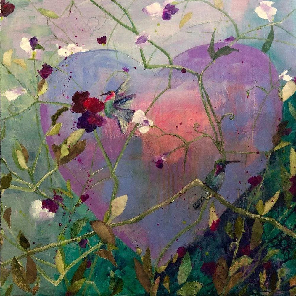 Milagro Heart Art | PoroyArt