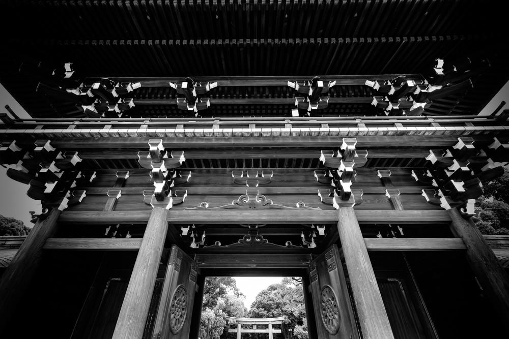 Meiji Jingu Gate Tokyo
