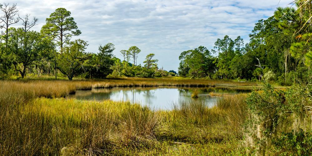 Calibogue Cay Marsh at High Tide