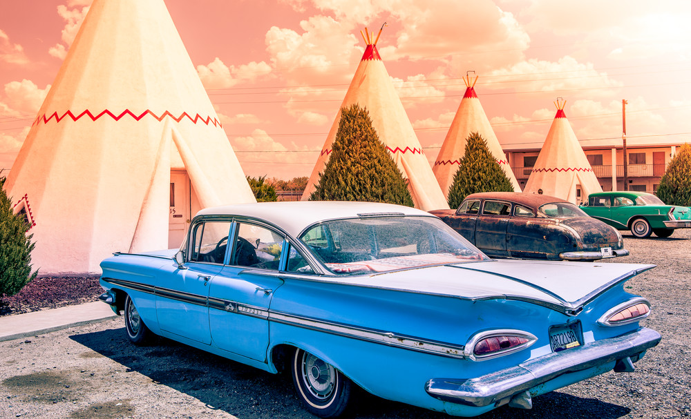 Wigwam Motel Photography Art | Harry John Kerker Photo Artist