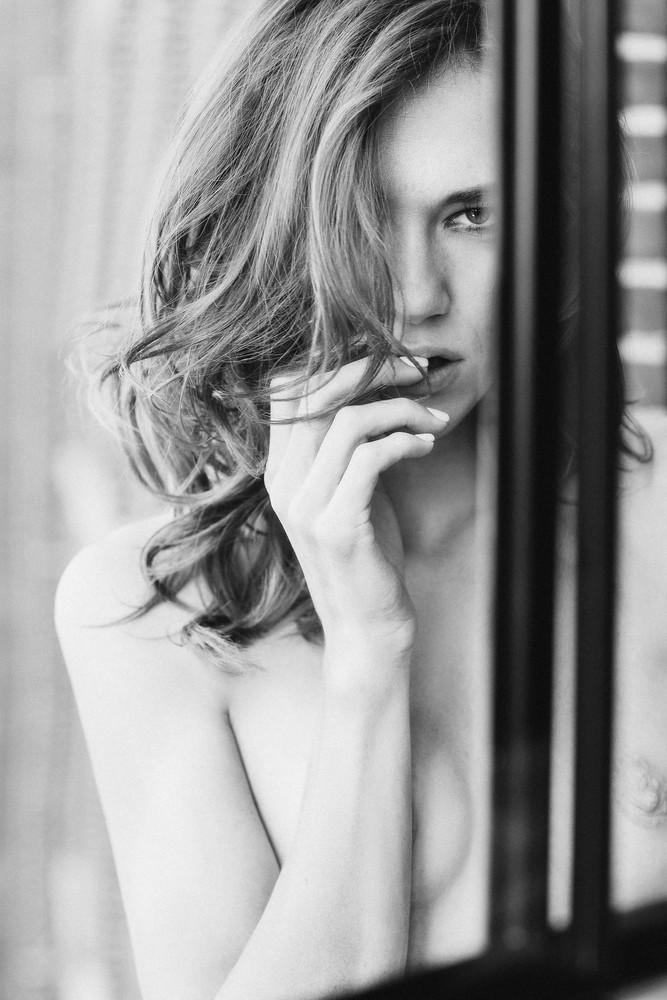 When I'm Nervous, I Bite B/W Photography Art | LenaDi Photography LLC