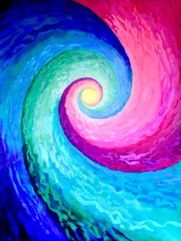 Spiral Portal, by artist Jenny Hahn