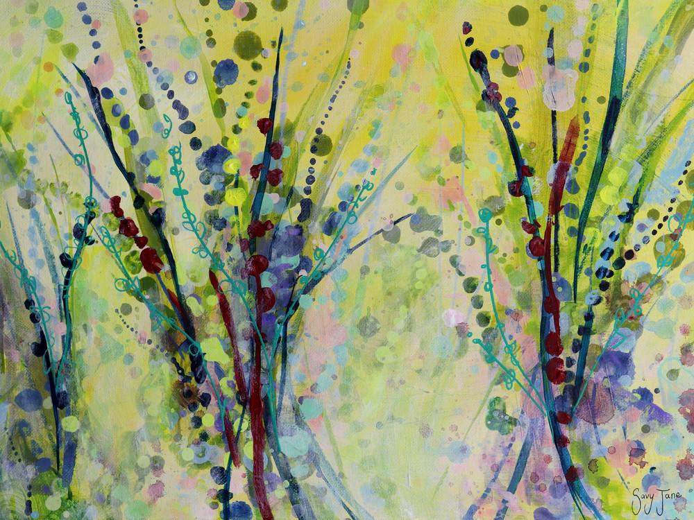 Blond Daybreak Ii Art | Savy Jane Studios