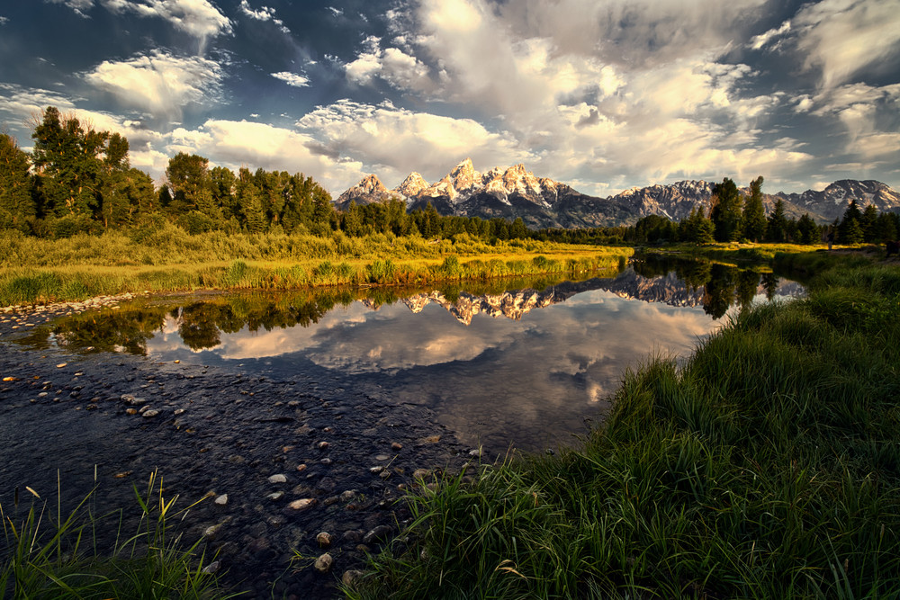 Snake River Sunrise Art | Chad Wanstreet Inc