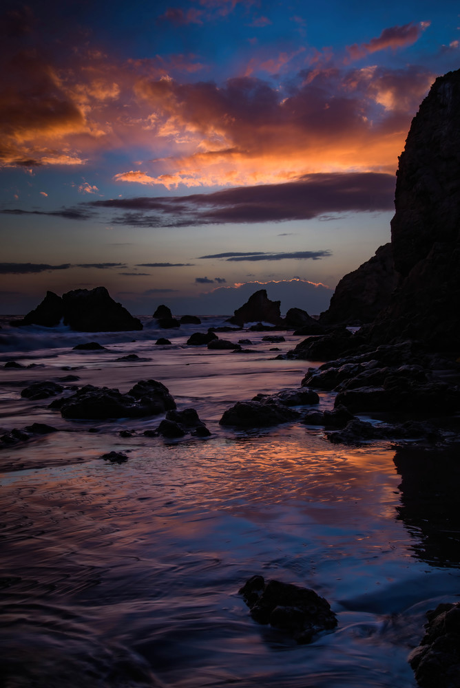 Malibu Sunset Ii Photography Art | Greg Starnes Phtography