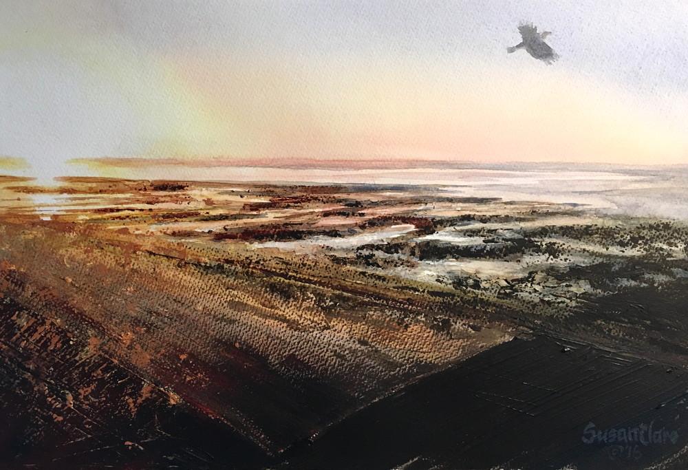 Sunrise Flight Art   susanclare