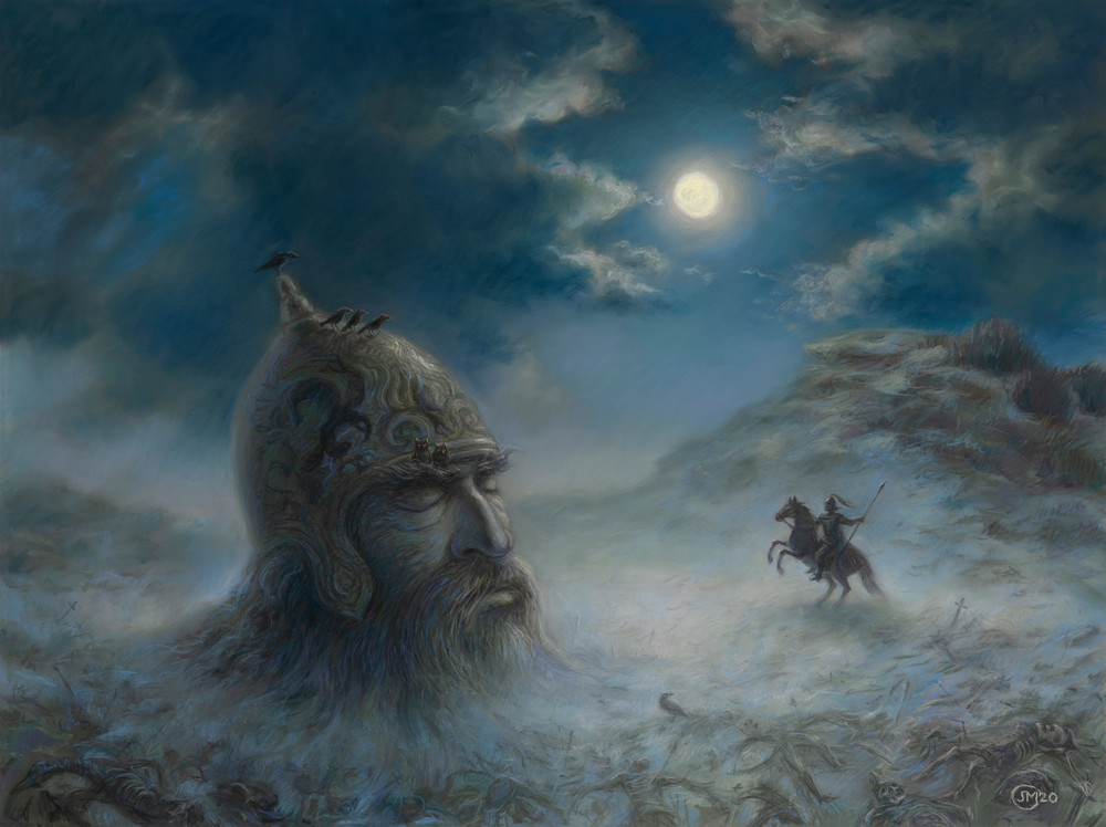 Ruslan and Lyudmila illustration