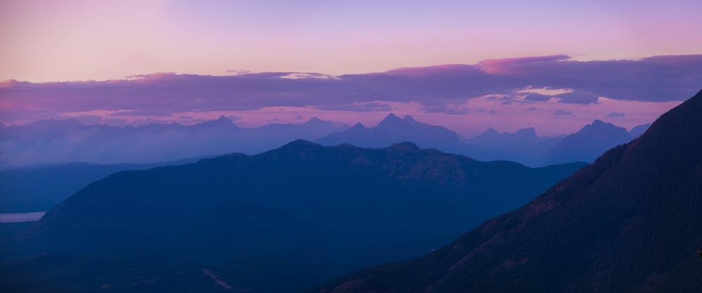 Glacier National Park Mountain View Photography Art   Austin Marvel