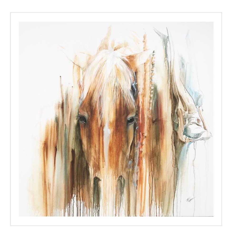 Gunna Get Ya Fine Art Print | Tammy Tappan Art