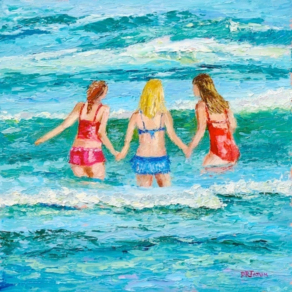 Sisterhood2 Square 729 Art | Pamela Ramey Tatum Fine Art