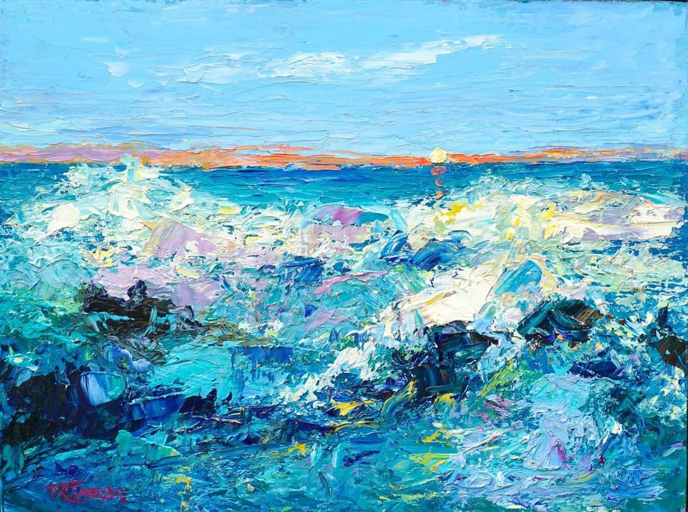 September Surf 810 Art | Pamela Ramey Tatum Fine Art