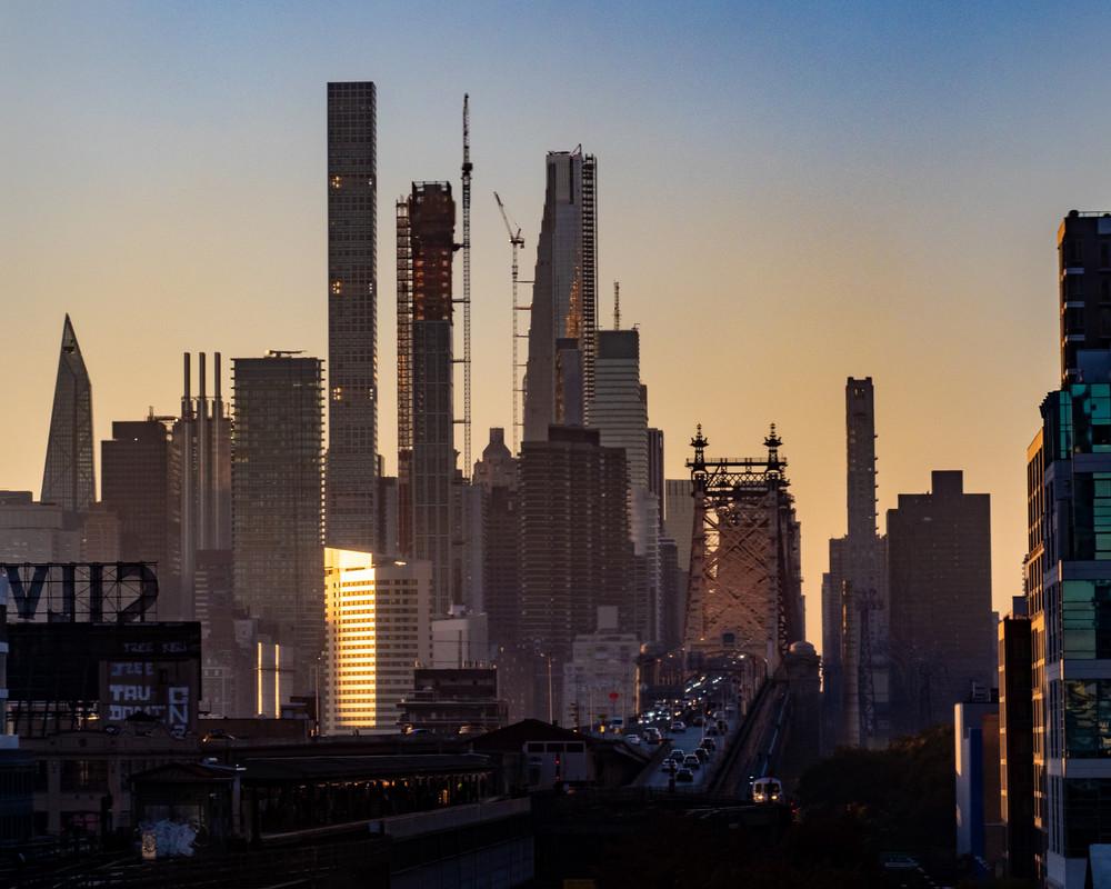 59th Street Bridge Sunset, Nyc  Photography Art | Ben Asen Photography