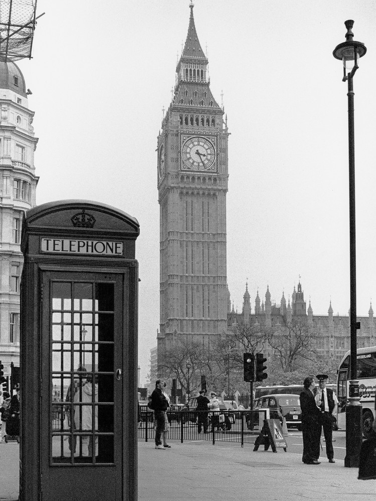 Big Ben London Photography Art | The World in Black and White