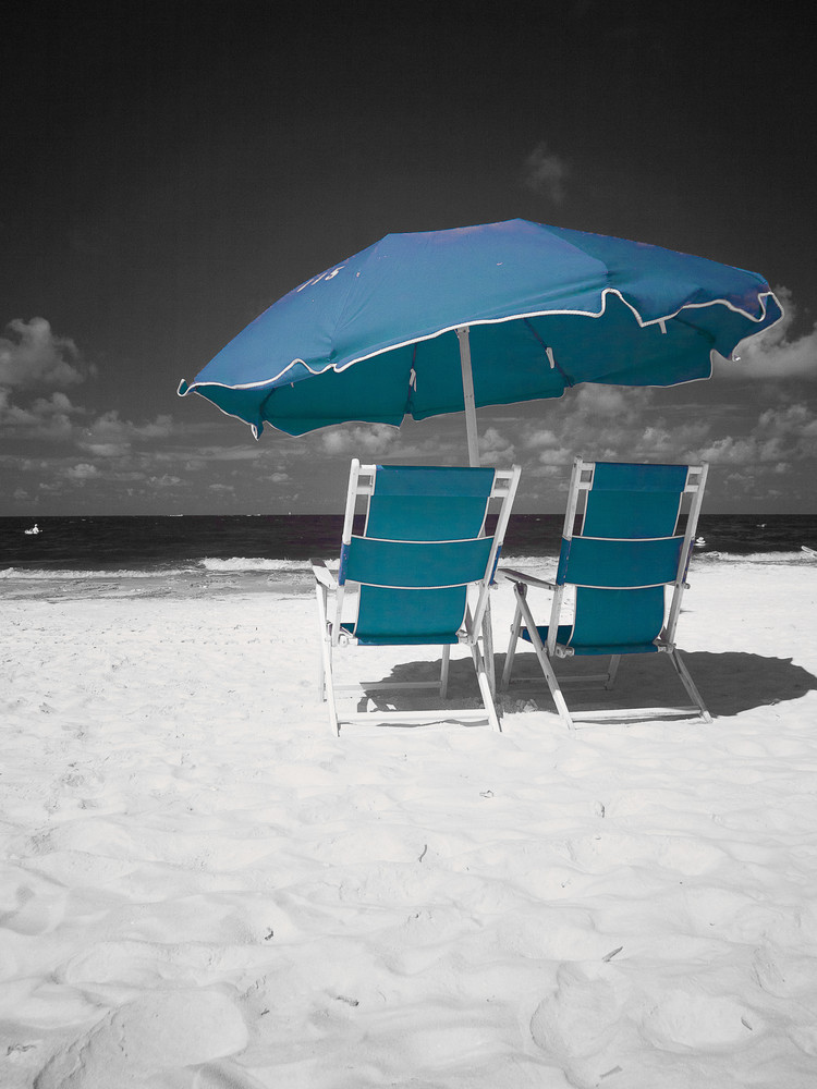 Toes In The Sand, Florida Photography Art | The World in Black and White
