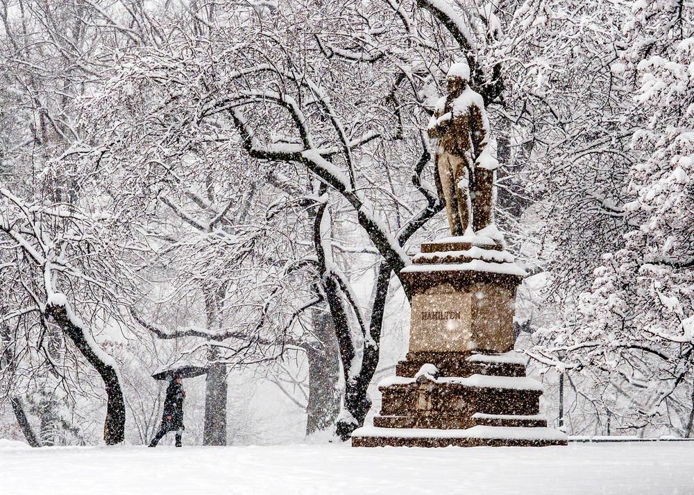 Walking Towards Alexander Hamilton Photography Art   Ben Asen Photography