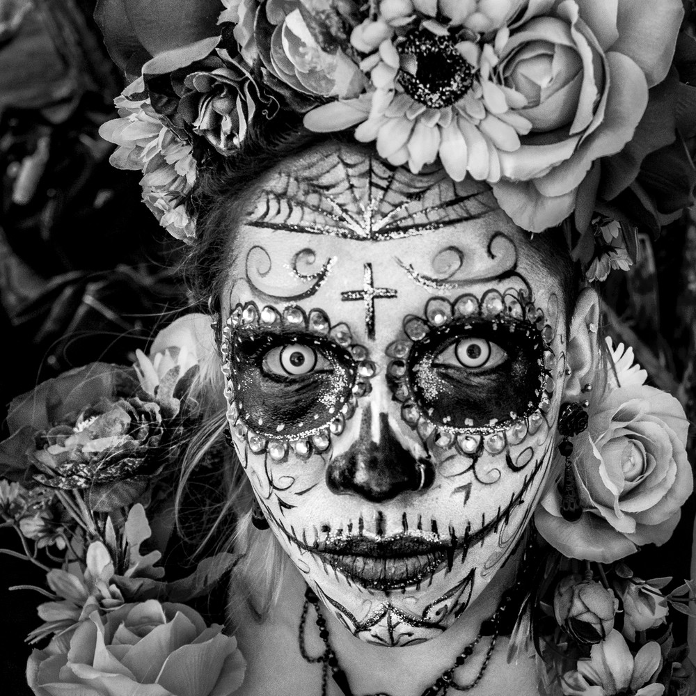 Los Ojos Del Catrina Photography Art | Harry John Kerker Photo Artist