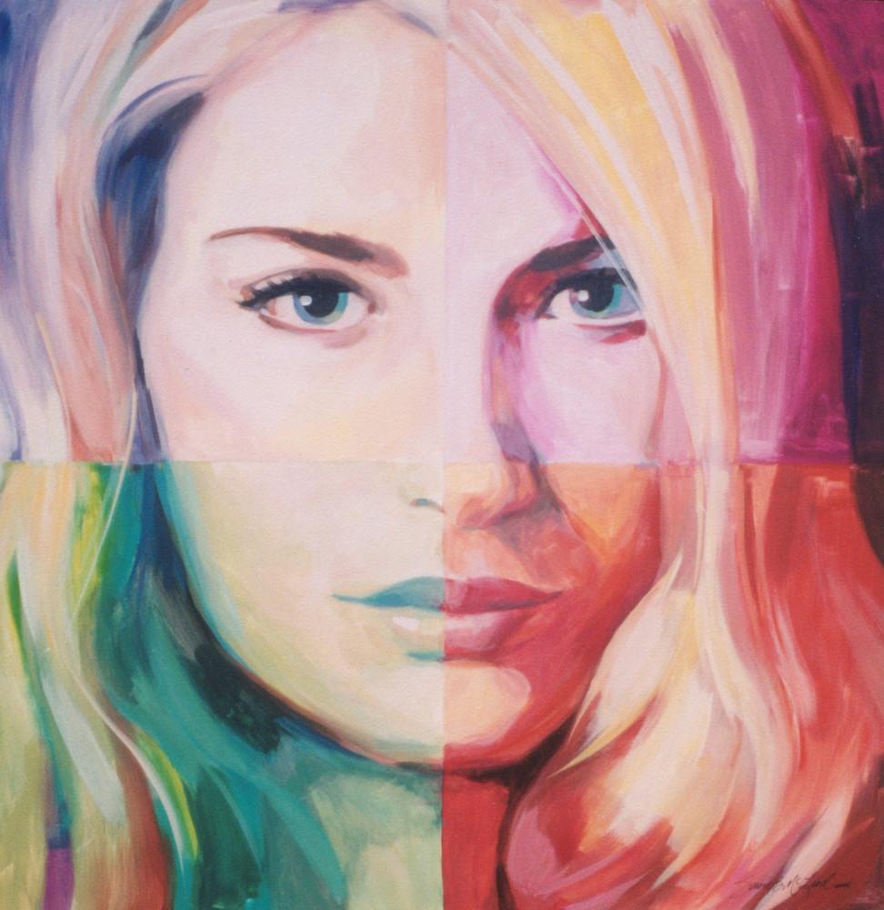 Be You, Colors Of The Heart Series Art | susie mccolgan art