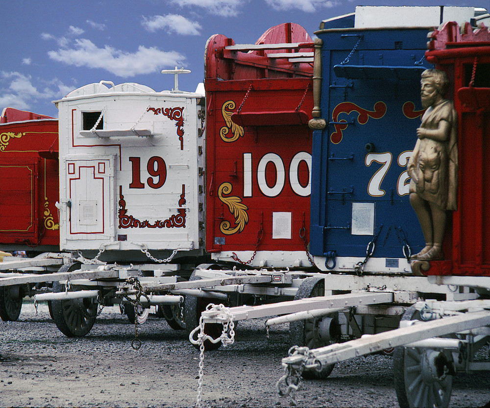 Circus Wagon Series Art | Mark Stall IMAGES