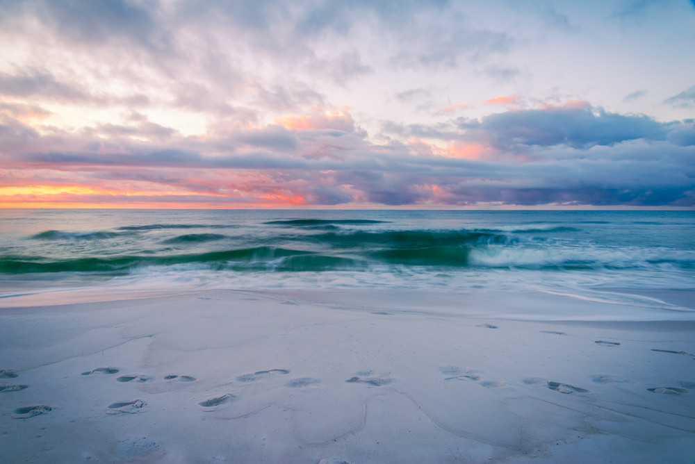 The Soft Waves of Destin | Susan J Photography