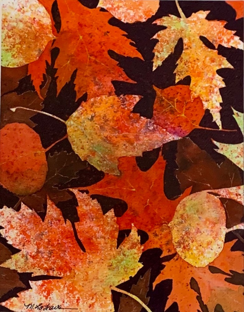Autumn Leaves Art | Mickey La Fave