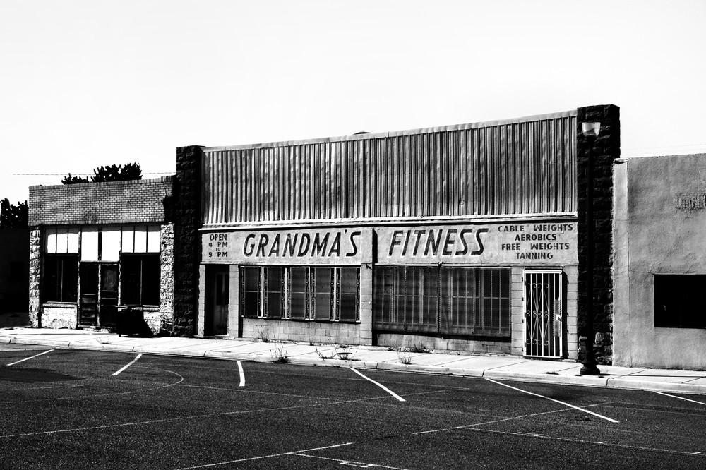 Grandma's Fitness Photography Art   Peter Welch