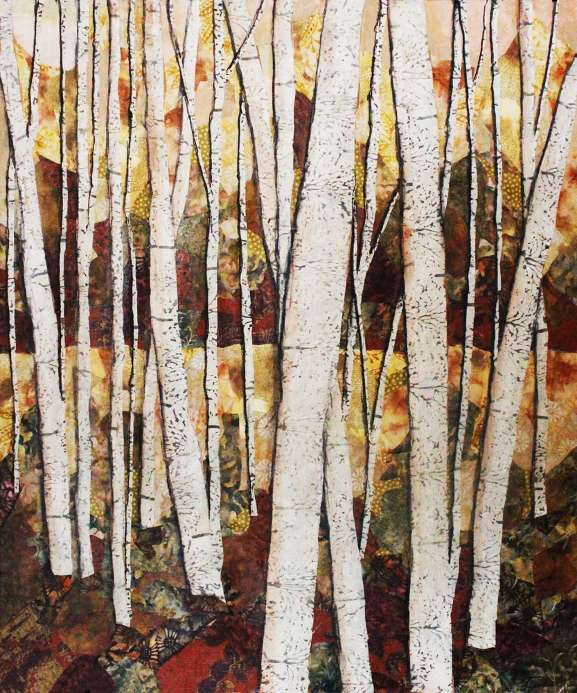 Autumn Trees Print Sharon Tesser
