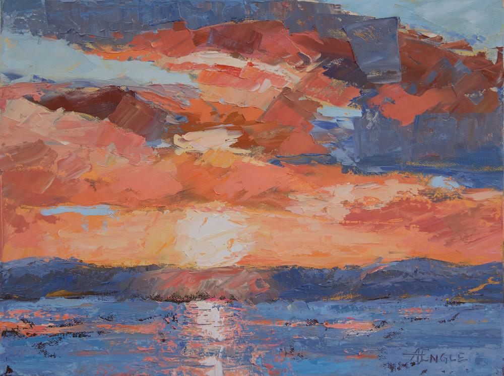 Westside Sunset Art | Friday Harbor Atelier