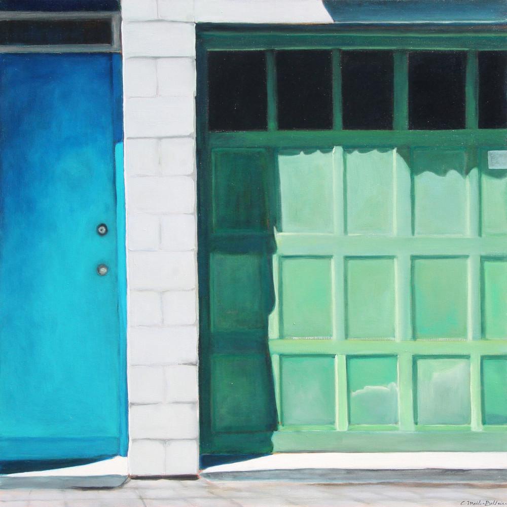 Turquoise + Green Art | Courtney Miller Bellairs Artist