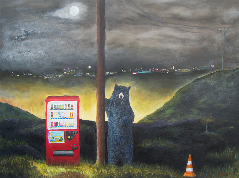 Highway Art | Mystery Dinosaur Productions/Fae Yamaguchi Art