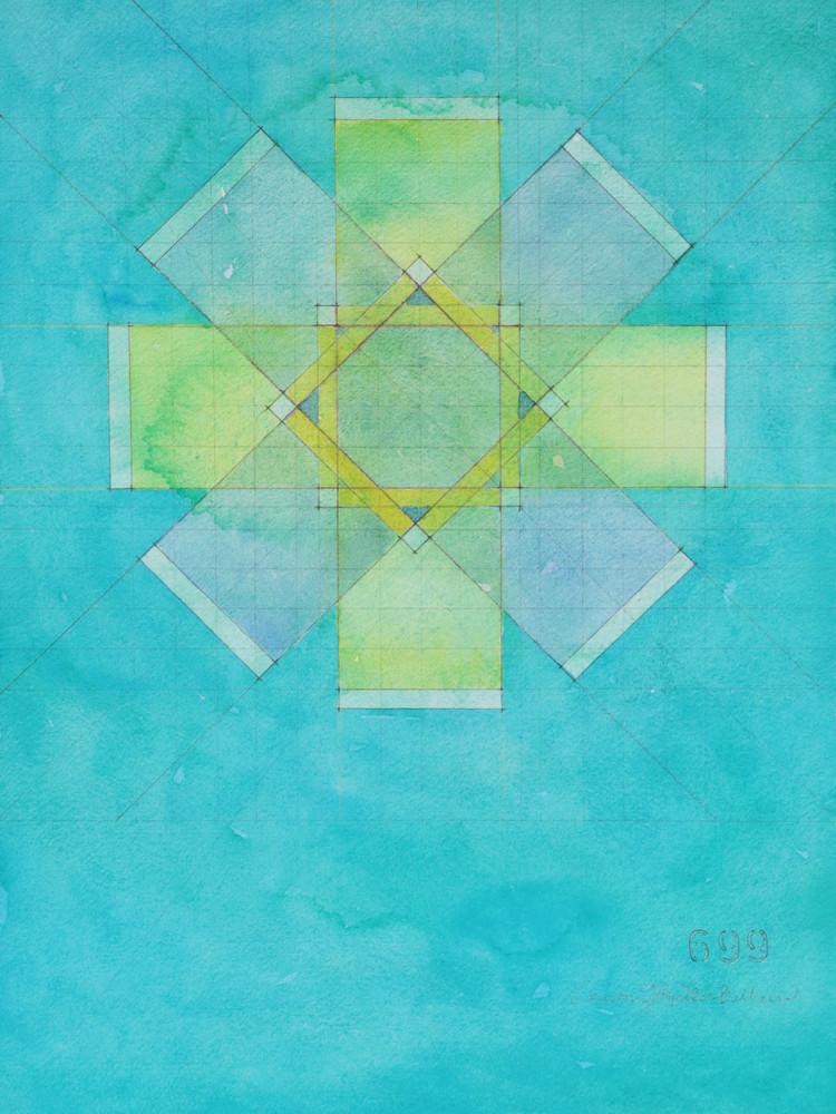 Circle Plan Art   Courtney Miller Bellairs Artist