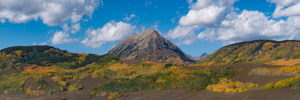 Mt. Gothic In The Fall Photography Art   Alex Nueschaefer Photography