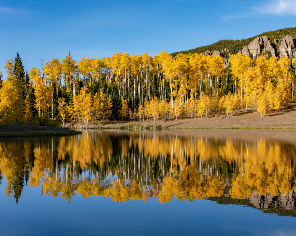 Fall On The Lake Photography Art | Alex Nueschaefer Photography