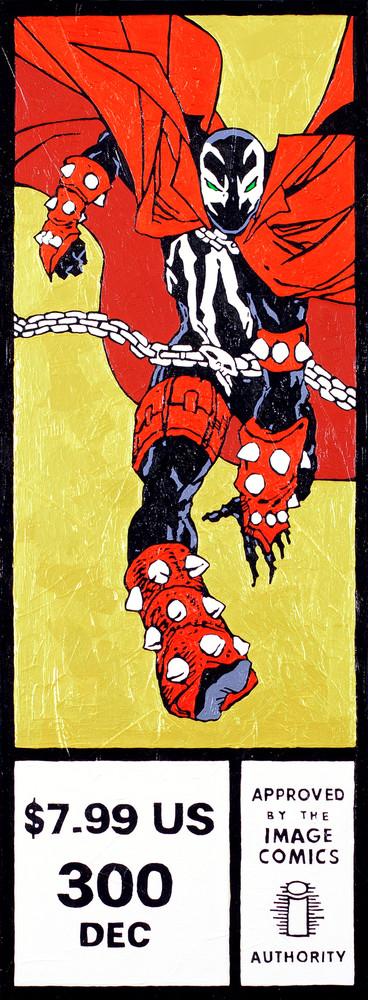 Hellspawn #300 Print Art   Todd Monk Art