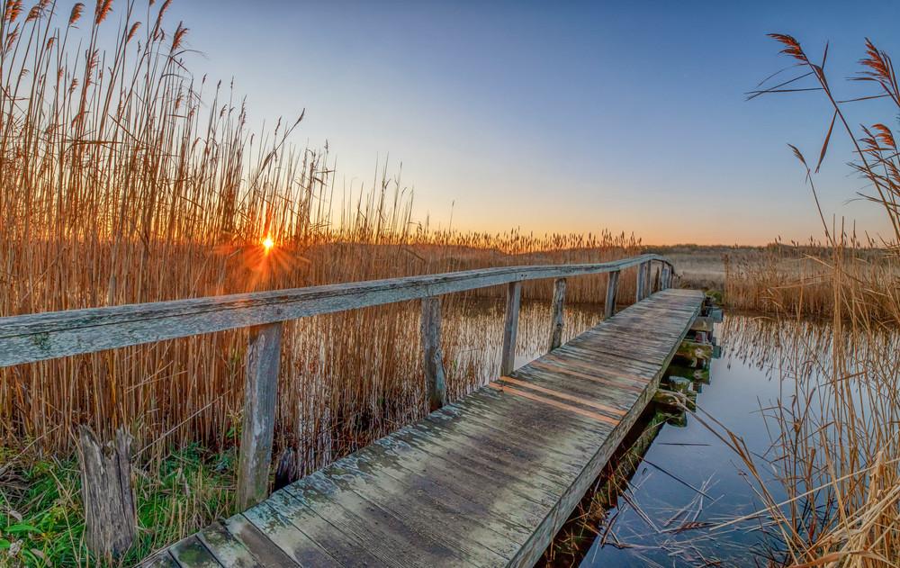 Quansoo Bridge Fall Sunrise Art | Michael Blanchard Inspirational Photography - Crossroads Gallery