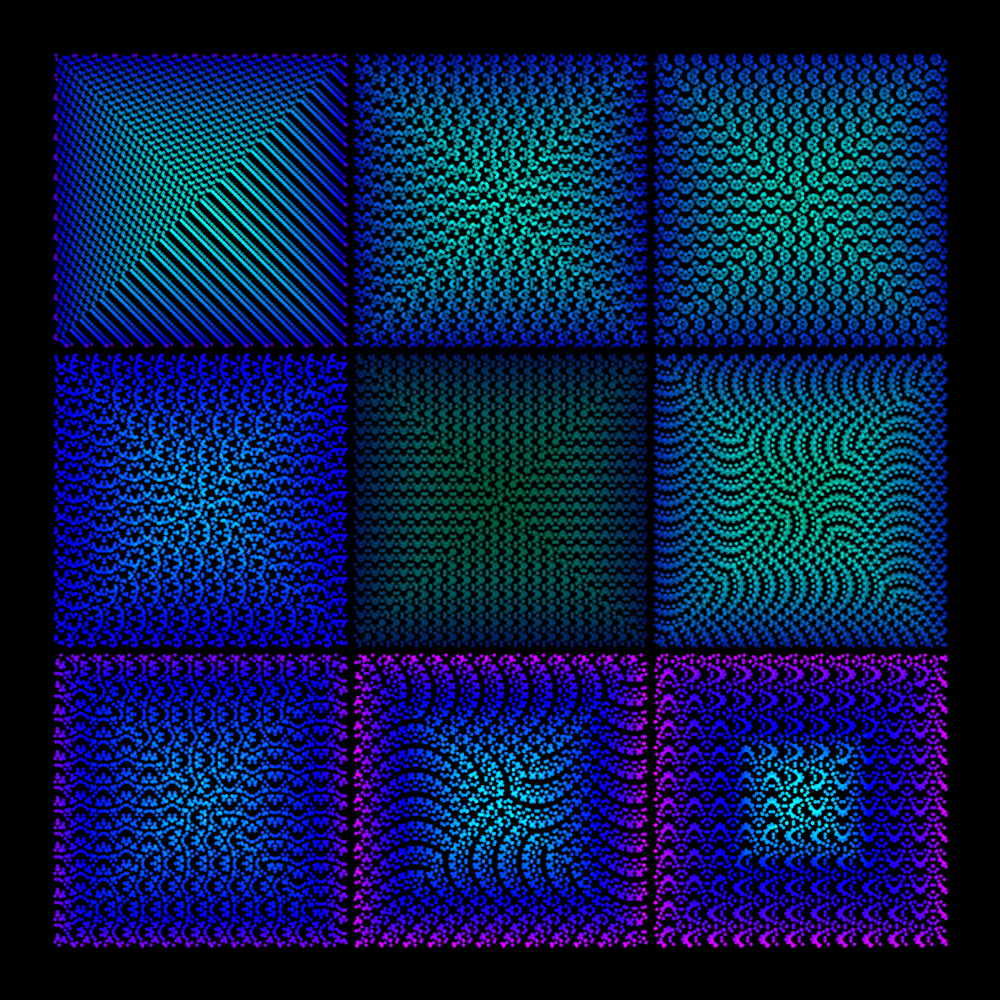 Twisted Tessellations Ii Art | Between Art and Science
