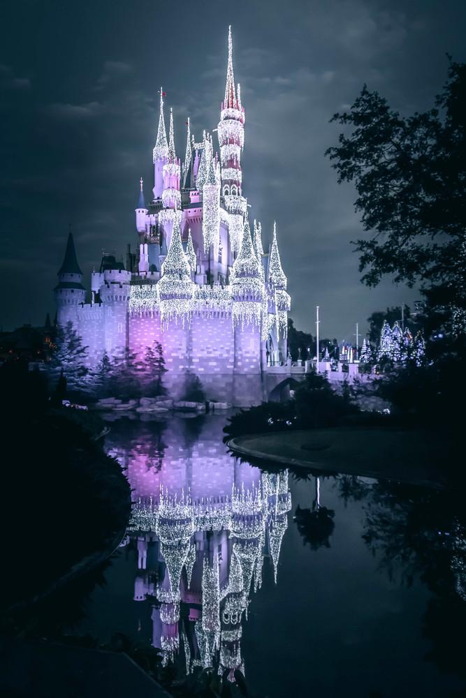 Cinderella Castle Dream Lights 3 Photography Art | William Drew Photography