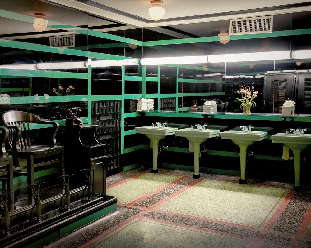 Hermitage Hotel Men's Room Art | Anna Jaap Studio