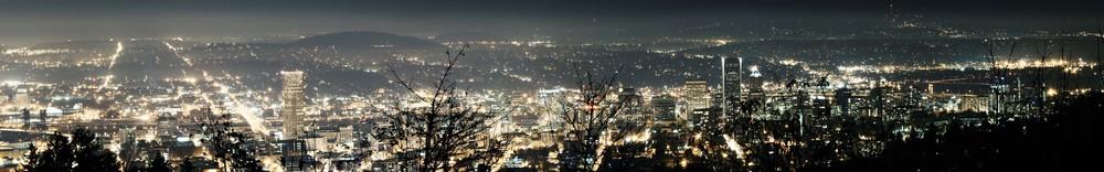 Portland Panoramic Photography Art | Austin Marvel