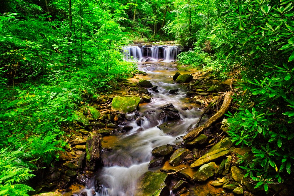 Cascades On the Pacolet - A Fine Art Photograph by Marcos R. Quintana