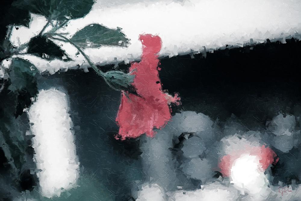 Red Flower Art | R.j.Ricci Art