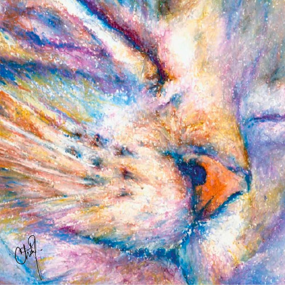 Pastel Kitty Cat  Art | Christy! Studios