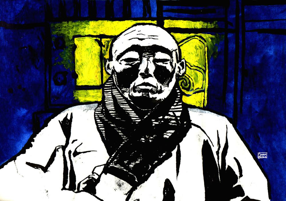 Monk Art | Omaha Perez Art