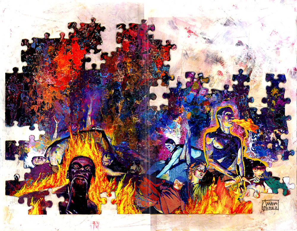 Puzzled 01 Art | Omaha Perez Art