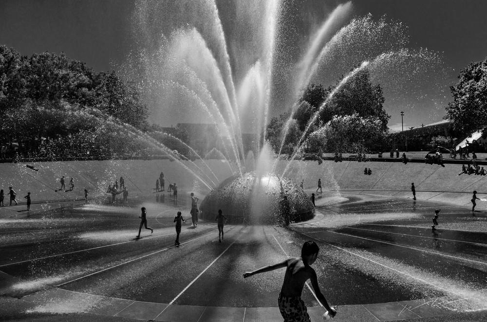 Cooling Off Photography Art | Harry John Kerker Photo Artist