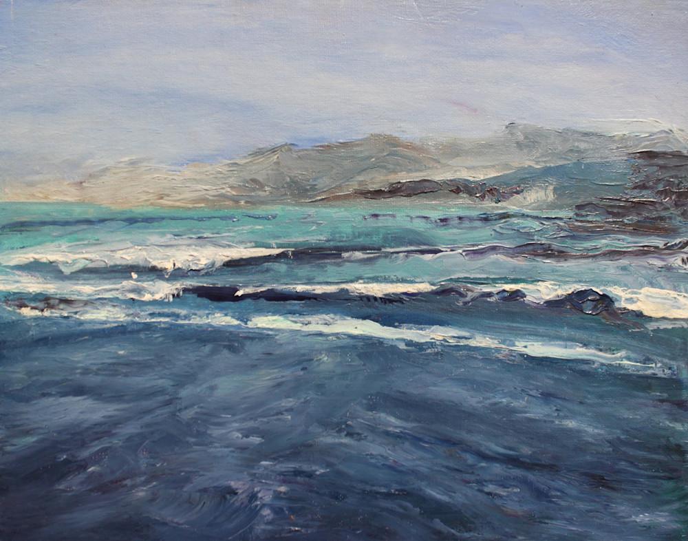 Ventura From The Harbor1 Art | Nosco Fine Art